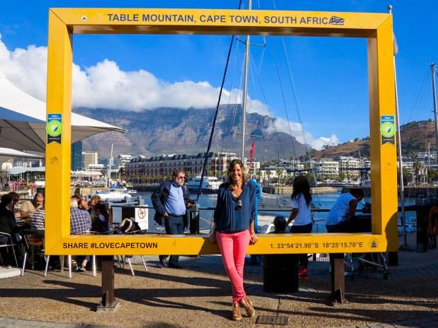 Vista a Table Mountain