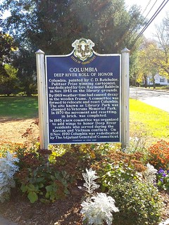 Columbia - Deep River Historical Marker