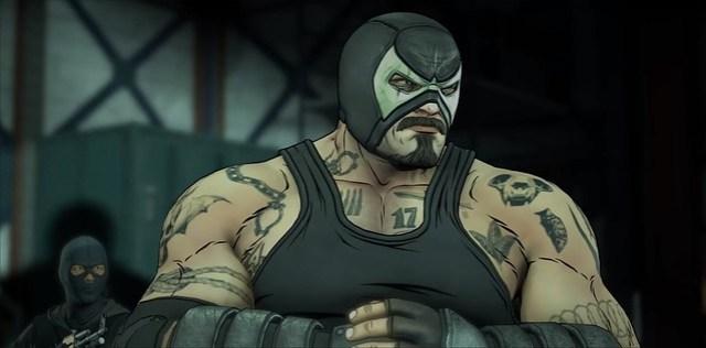 Bölüm 2 içinde Batman Düşman - Bane