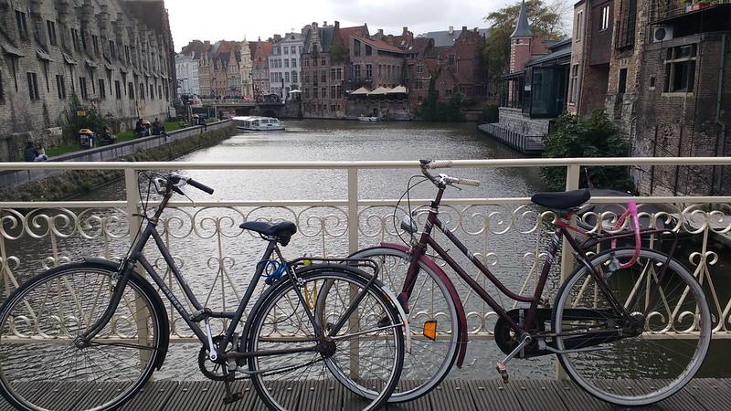 Bicicletas en Gante guía para erasmus en gante - 37410356486 bfff3e6fa5 c - Guía para Erasmus en Gante
