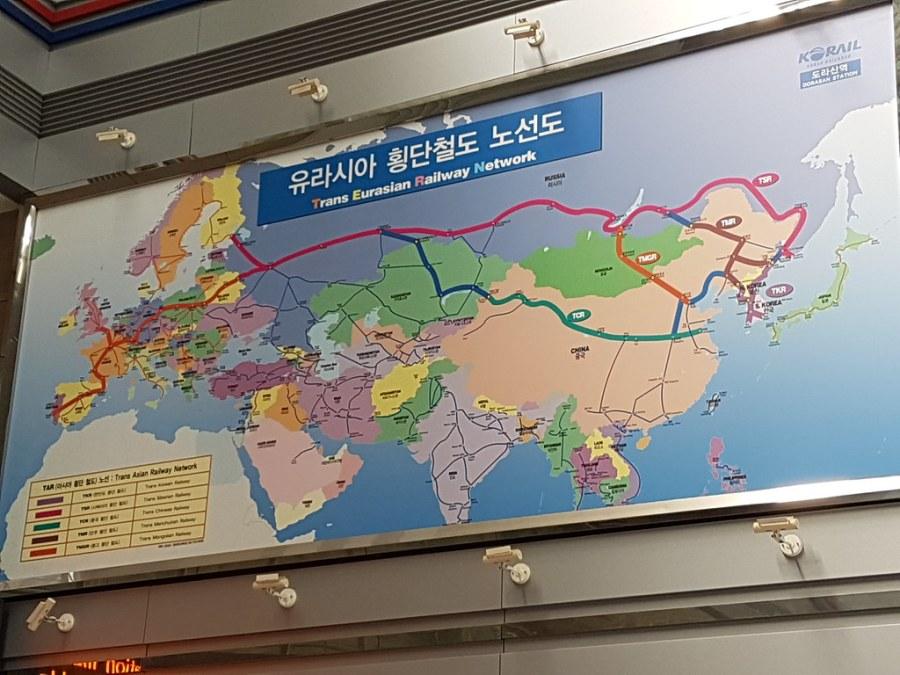 ligne train trans eurasian dorasan