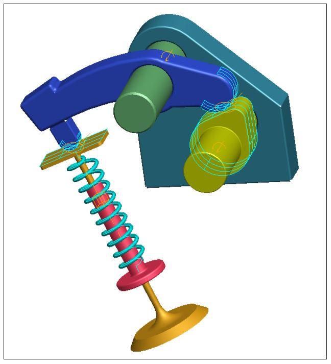 Mô phỏng cơ cấu cam trong proengineer