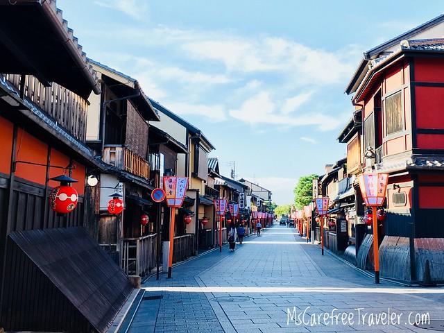 Hanamikoji-dori, Gion, Kyoto