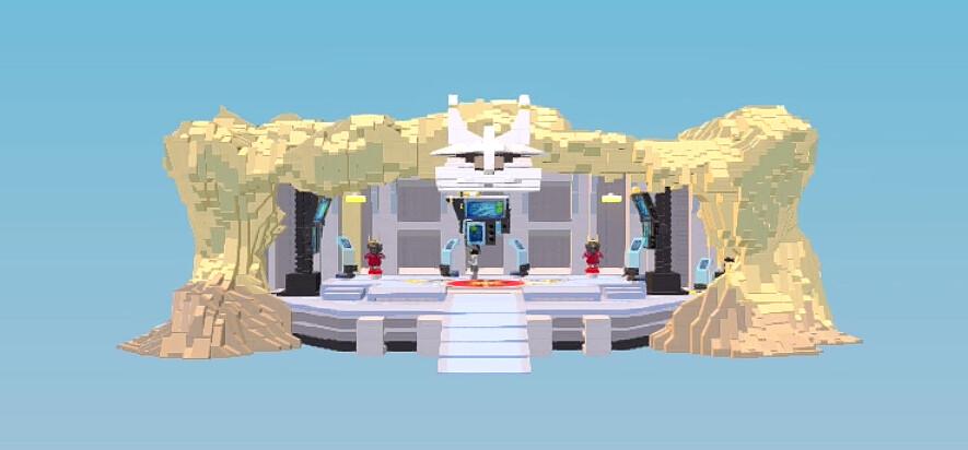 Pećina samuraja X - LEGO Worlds