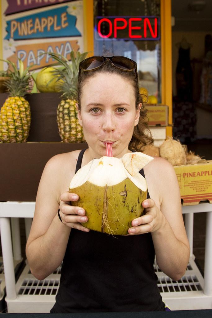 Fresh Hawaiian Coconut