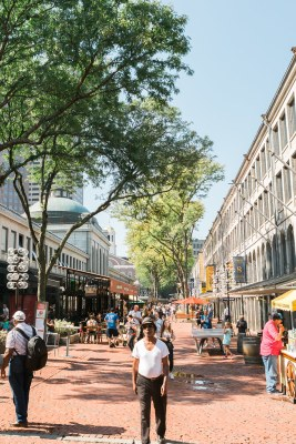 Quincy Market in Boston
