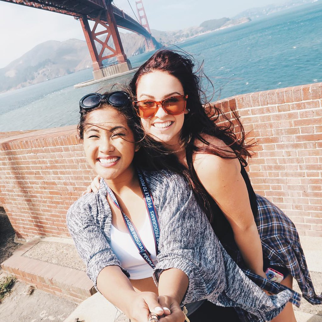 Top of Fort Point San Francisco with Shannon | RACHEYwrites