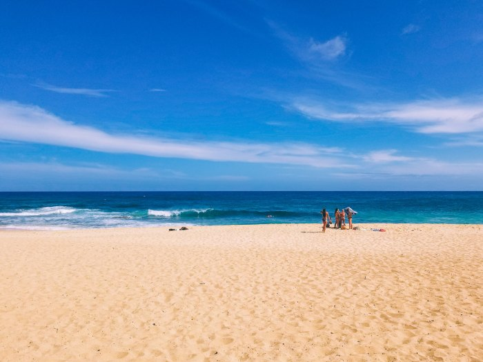 Oahu Beach Guide - A Perogy and Panda Hawaii Travel Guide - Sandy Beach