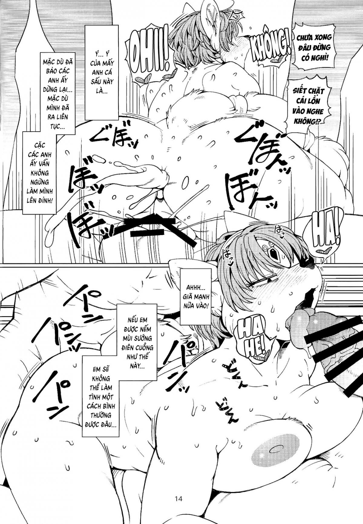 Hình ảnh  trong bài viết [Hentai Thú Vật] Foxy Ngực Big Boobs