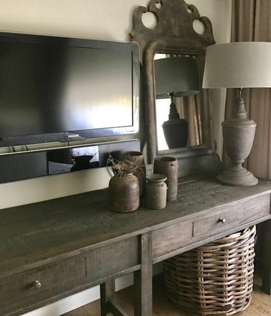 TV kast sober stoer Hoffz interieur
