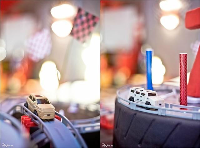 race car theme party cakeA