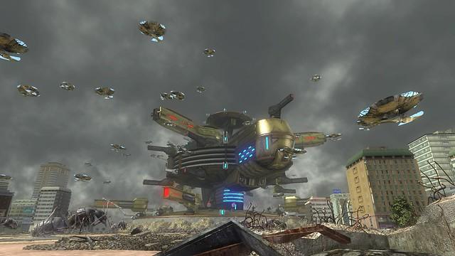 巨大前哨基地