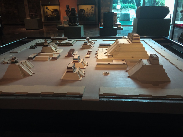 Scale Model of Templo Mayor