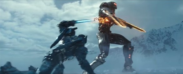 Pacific Rim Uprising - Jaeger Fight