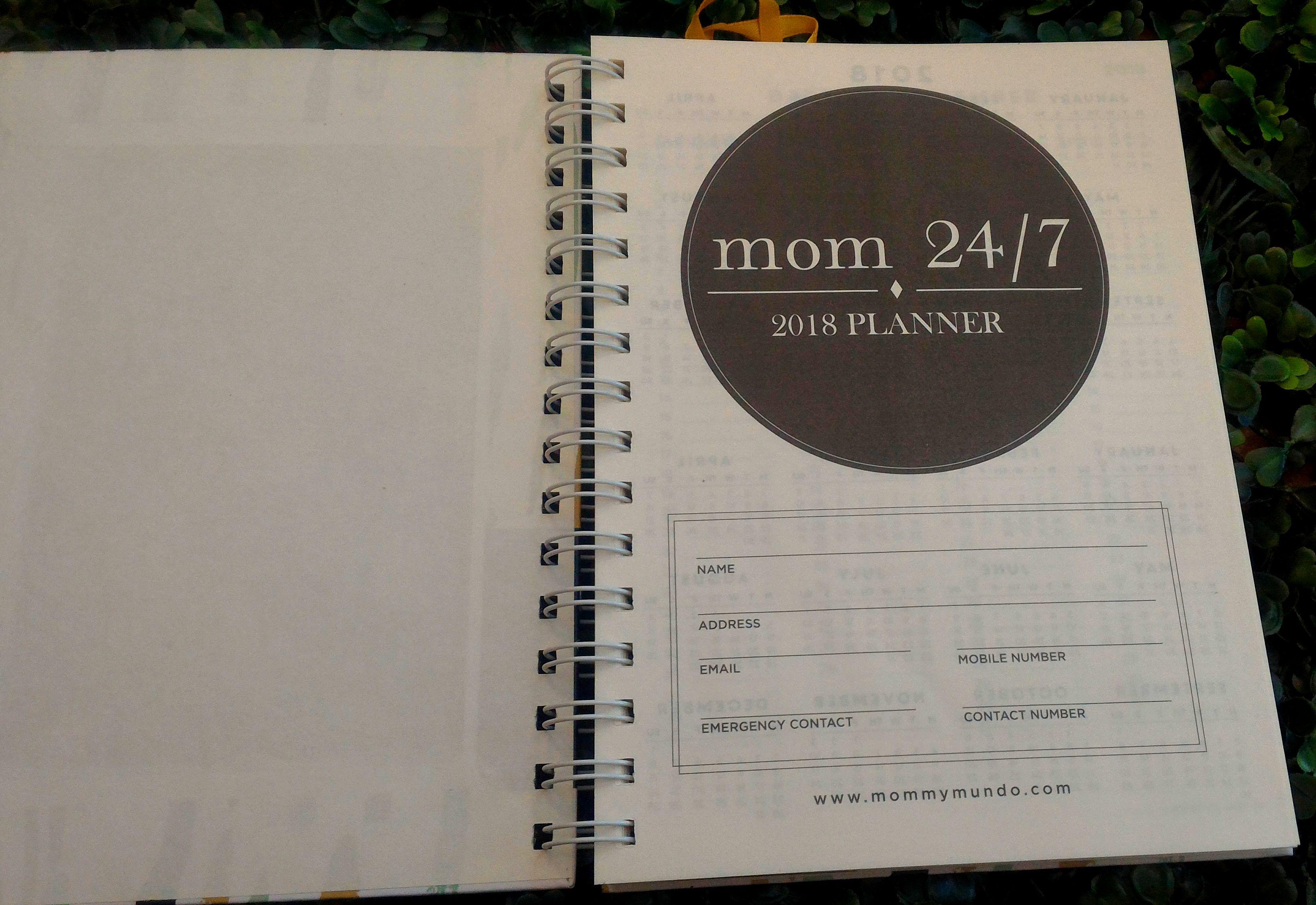 MM Planner 2018 2