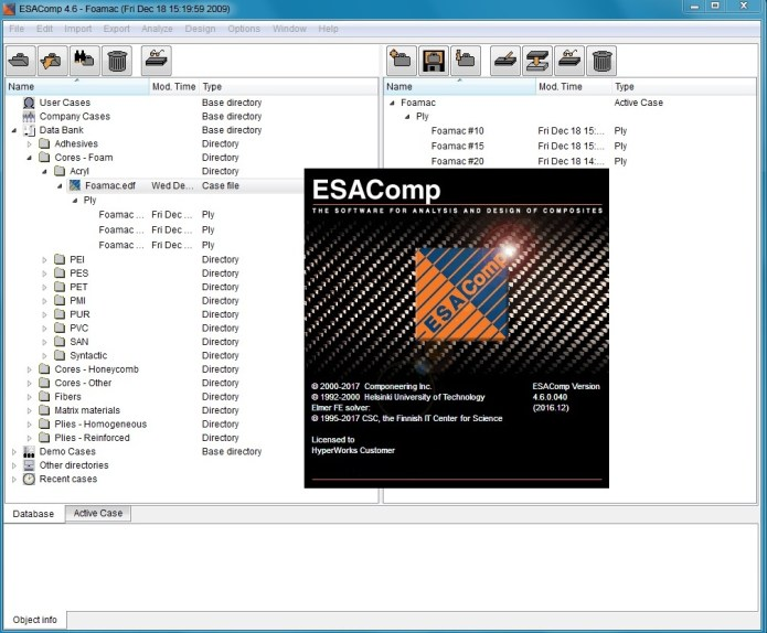 Working with ESAComp v4.6.040 full license