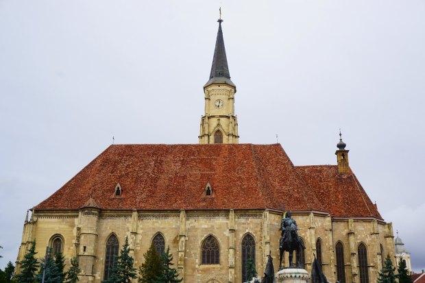St. Michael's Church and Matthias Corvinus Monument