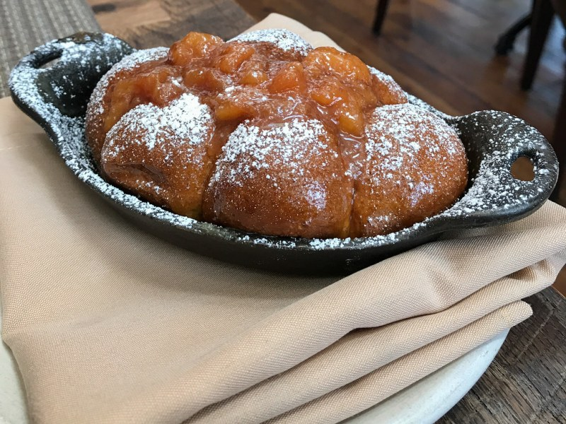 Monkey Bread, Peach Jam ($10)