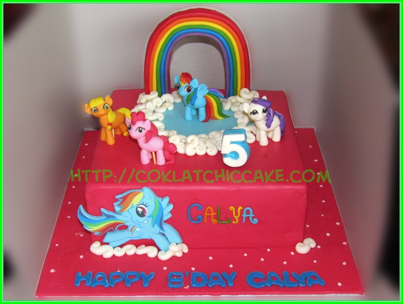 cake my little pony calya jual kue ulang tahun