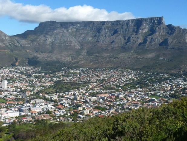 Llegada a Ciudad del Cabo