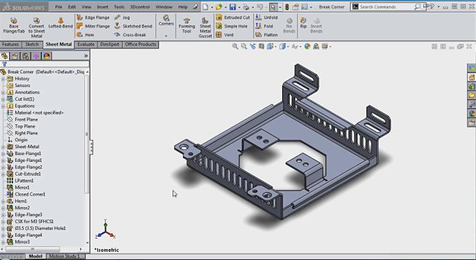 Video hướng dẫn thiết kế chi tiết hàn trong solidworks 2015