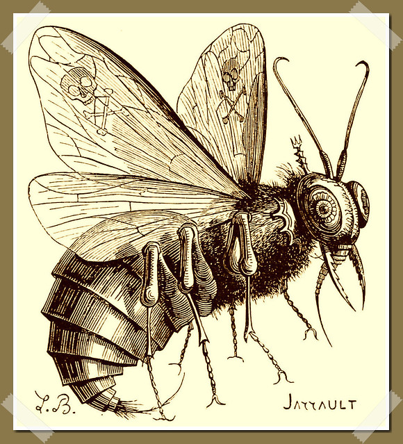 Belzébuth tel que décrit dans le Dictionnaire Infernal de Collin de Plancy, édition 1863.