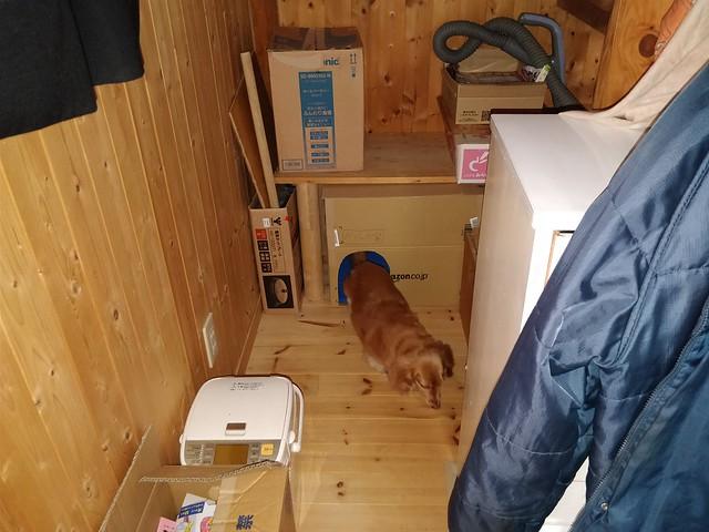 ハリーポッターより貧相な階段下の部屋を作った (1)