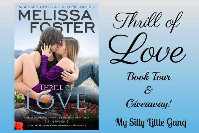 Thrill of Love by Melissa Foster Book Tour