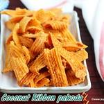 Coconut ribbon pakoda