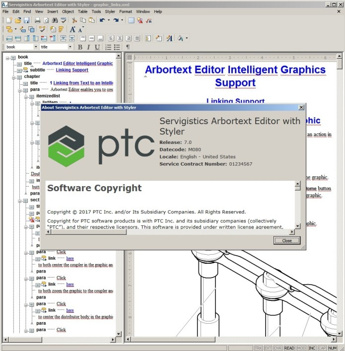 Working with PTC Arbortext Editor 7.0 M080 full crack