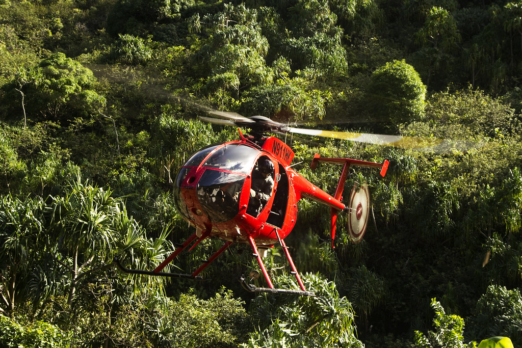 Kauai rescue helicopter