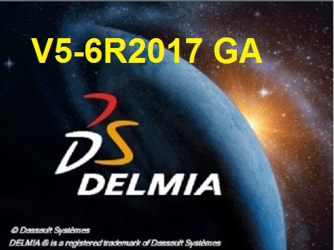DS DELMIA V5-6R2017 x64 full license