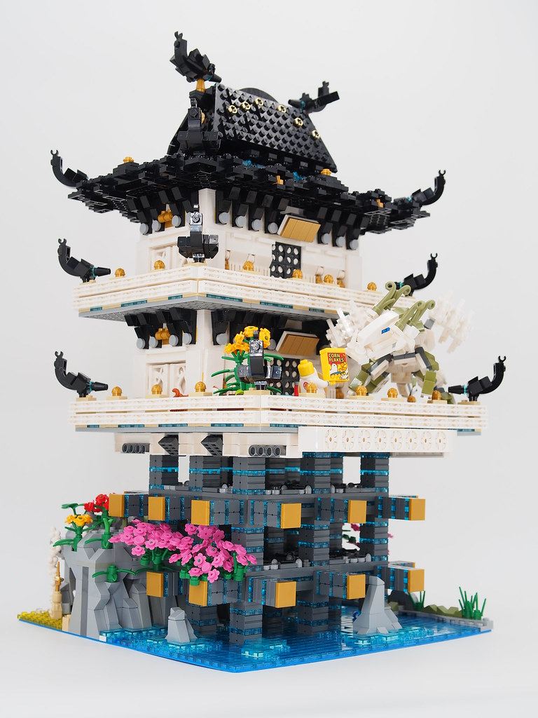 The Ninjago Movie - Master Wu's secret hideout