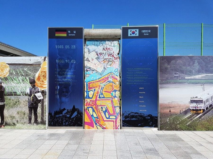 mur de berlin gare dorasan
