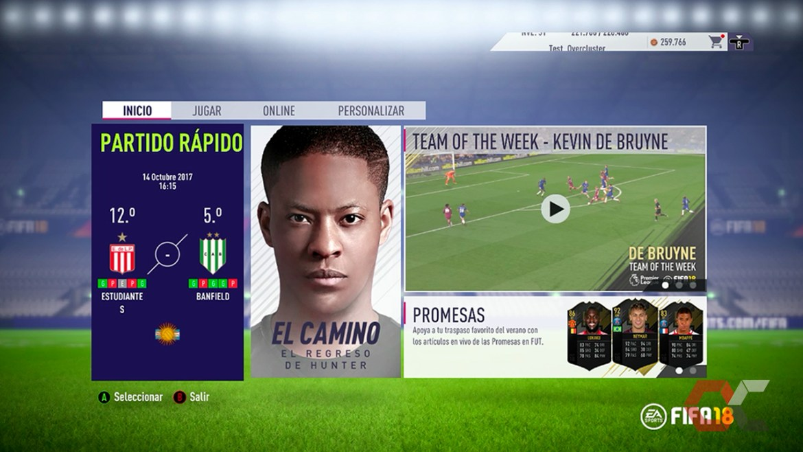 fifa 18 review 2 overcluster