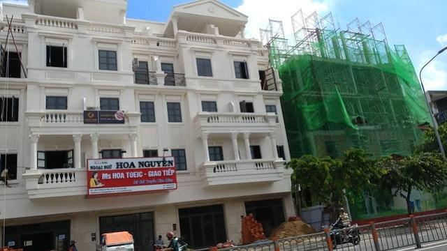 Trung tâm Anh ngữ Hoa Nguyễn được Gold Link giới thiệu thuê căn nhà của chị Nga mặt tiền Phan Văn Trị thuộc KDC CityLand Park Hills
