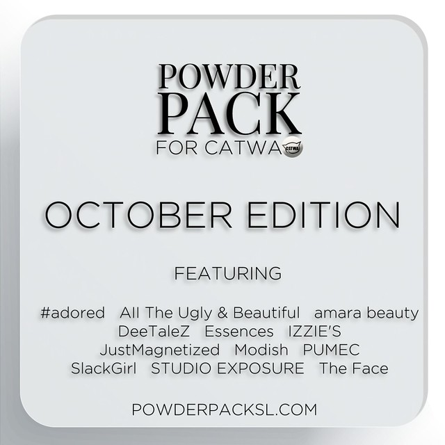 Powder Pack Catwa October Edition