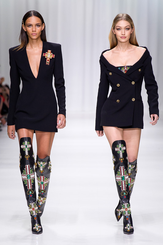 THE VERSACE TRIBUTE COLLECTION - Spring Summer 2018