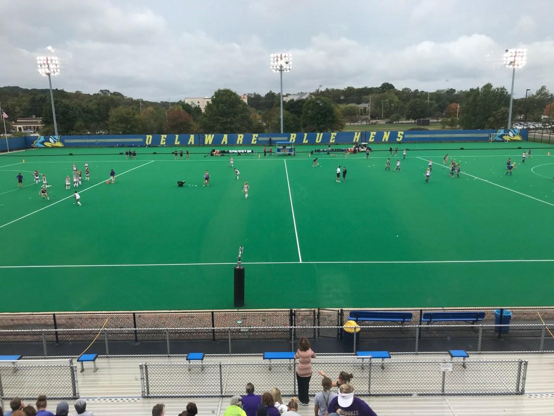 Delaware Field Hockey Dominates Caa Rival James Madison The Review