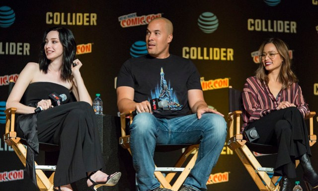 Emma Dumont, Coby Bell and Jamie Chung