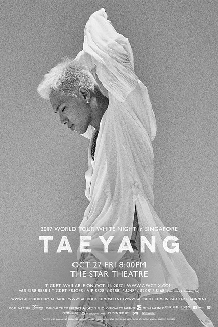 Taeyang 2017 'WHITE NIGHT' World Tour in Singapore