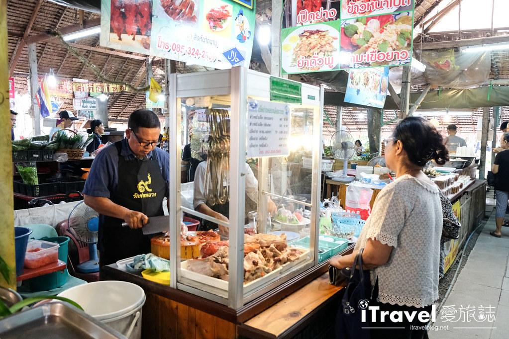 《曼谷景點推薦》 空叻瑪榮水上市場:薈萃在地生活與美食市集