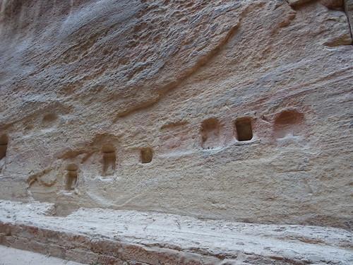 Petra - Al Siq - praying corner