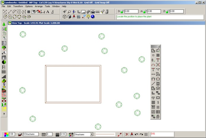 Working with LANDWorksCAD Pro 5.5 full license