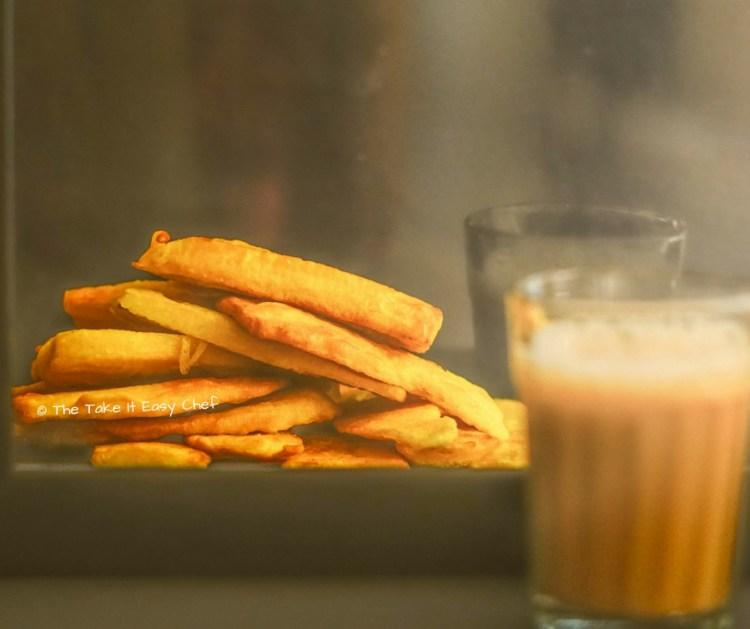 Teatime favourite pazham pori (banana fritters)
