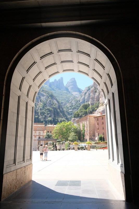 Exterior of Montserrat