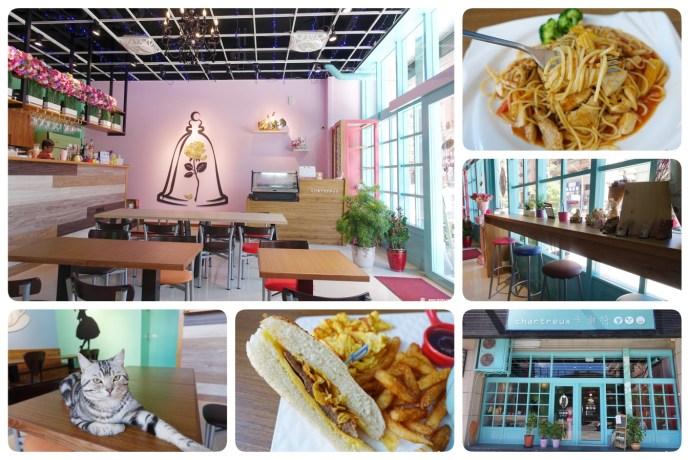 [桃園美食]卡爾特Chartreux Café~新開療癒貓咪餐廳.適合IG打卡、早午餐與下午茶 @VIVIYU小世界