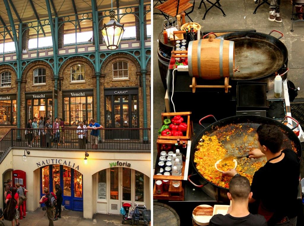 Covent Garden i London - London på budget