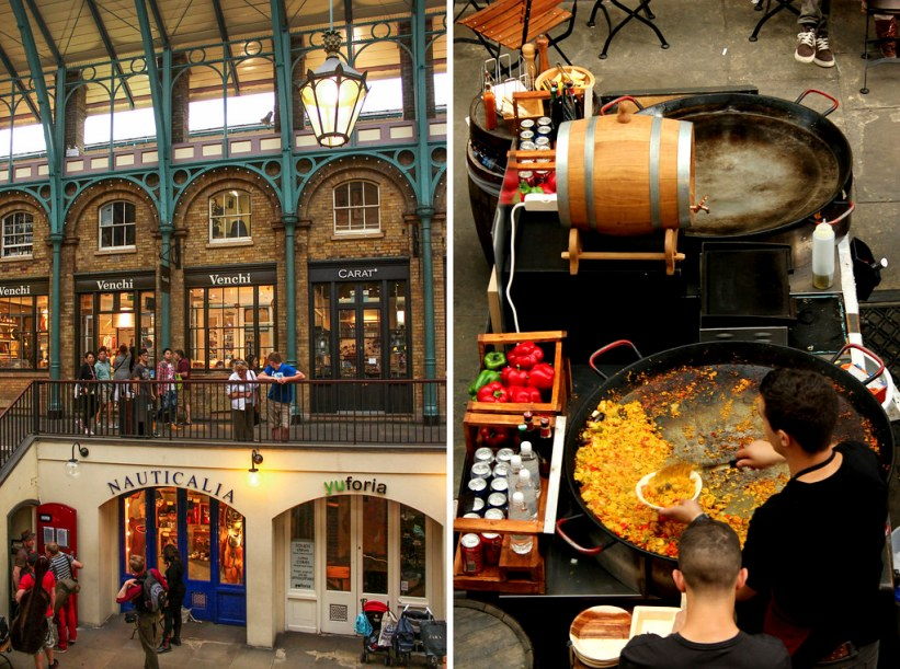 Covent Garden i London - London på budget