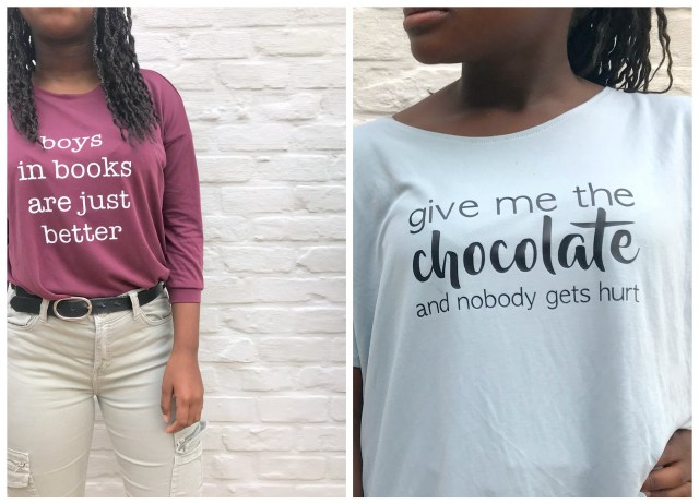 quote shirts (collage)